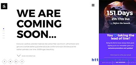 iSoon-Coming-Soon-Template
