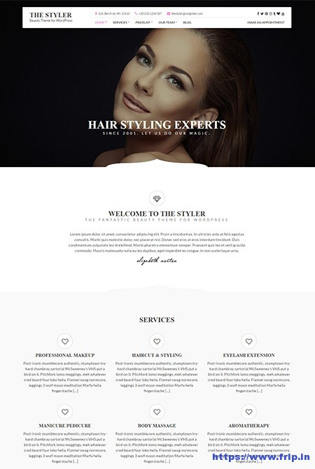 the-styler-beauty-wordpress-theme