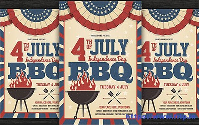 4th-of-July-BBQ-Flyer