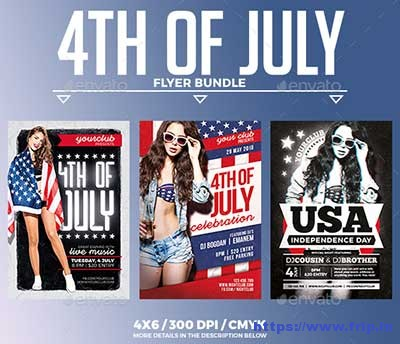 4th-of-July-Flyer-Bundle