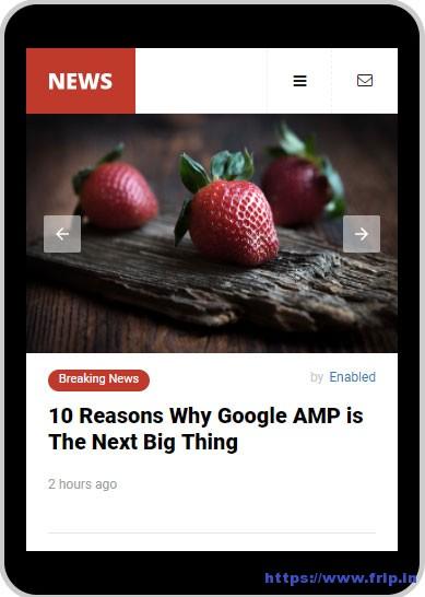 AMP-News-Mobile-Google-AMP-Template