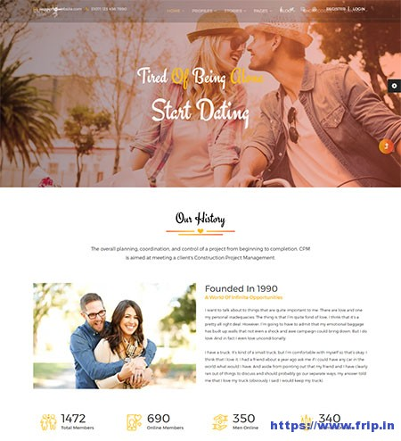 Cupid-Love-Dating-Website-Template