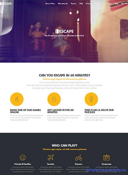 Escape-Game-Company-WordPress-Theme