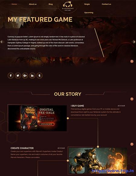 Gamerpro-Game-Sites-WordPress-Theme