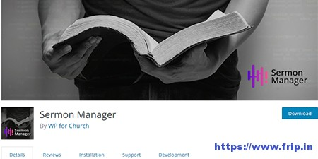 Sermon-Manager-WordPress-Plugin