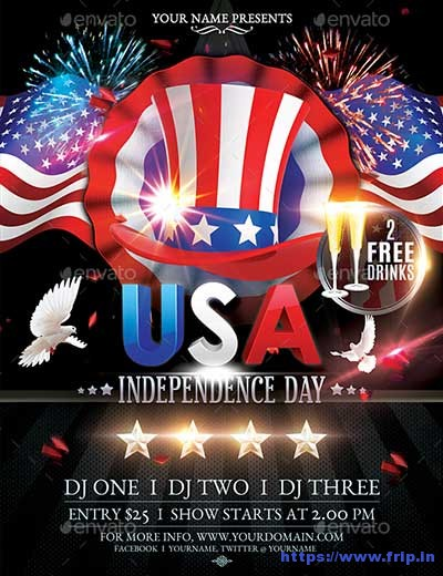 USA-Independence-Day-Flyer