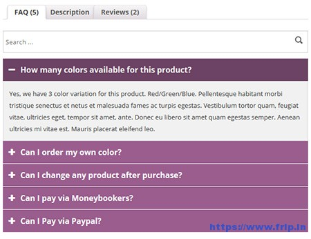 WooCommerce-Product-FAQ-Manager-Plugin