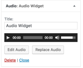 audio-widget