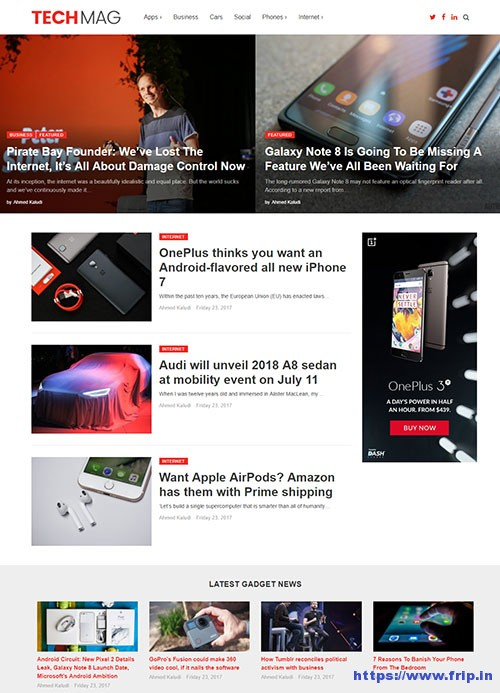 techmag-technology-wordpress-theme
