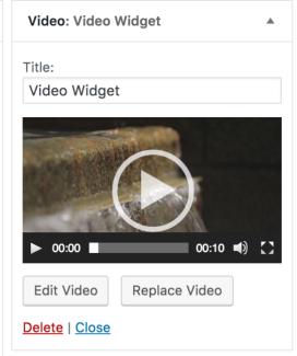 video-widget