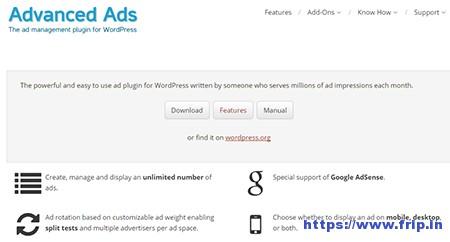 Advanced-Ad-WordPress-Plugin