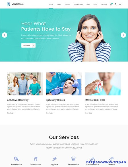 MediClinic-Health-&-Medical-WordPress-Theme
