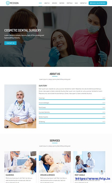 Medison-Dental-Clinic-WordPress-Theme