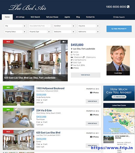 the-bel-air-real-estate-wordpress-theme