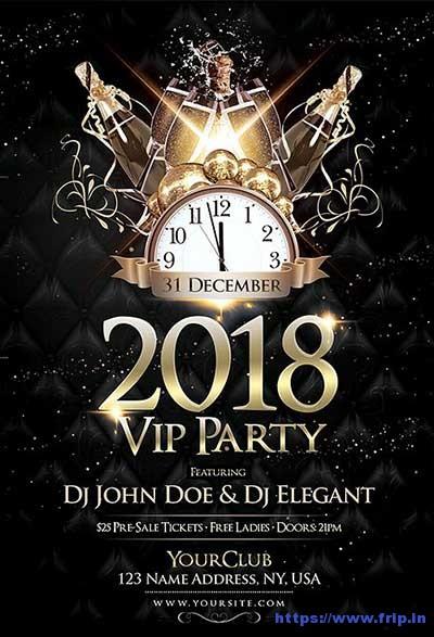 2018-NYE-VIP-Party-Flyer