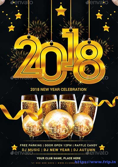 2018-New-Year-Party-Flyer-Template