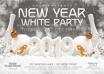 2019-New-Year-White-Party