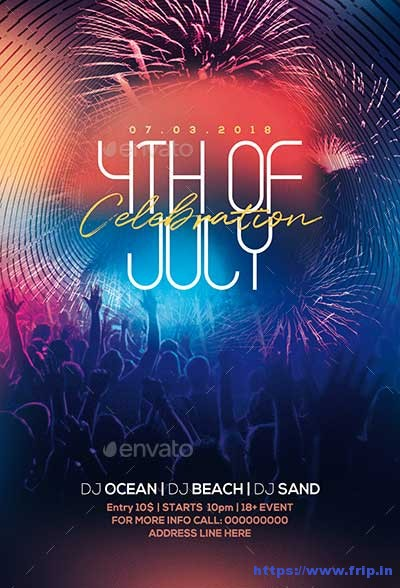 4th-July-Party-Flyer