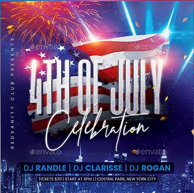 4th-of-July-Celebration-Flyer