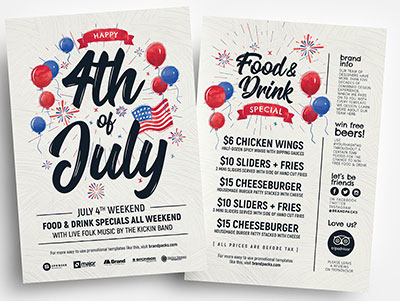 4th-of-July-Flyer-Templates