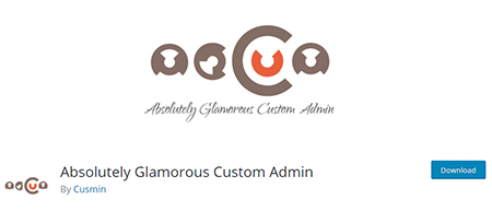 AG-Custom-Admin-Plugin