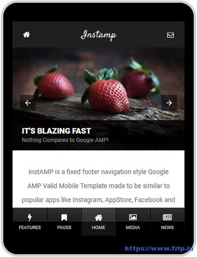 AMP-Insta-Google-AMP-Template