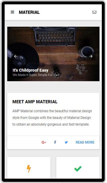 AMP-Material-Google-AMP-Template