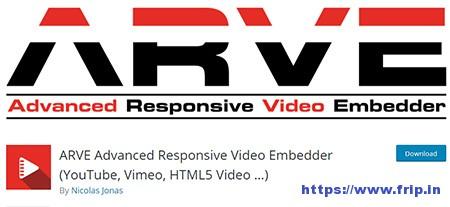 ARVE-Advanced-Responsive-Video-Embedder-Plugin