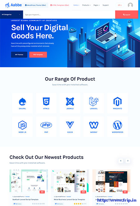 Aabbe-Digital-Marketplace-WordPress-Theme