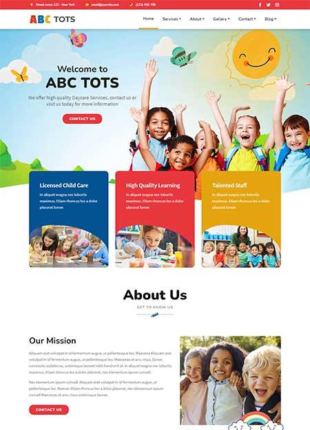 Abc-Tots-Kindergarten-Theme