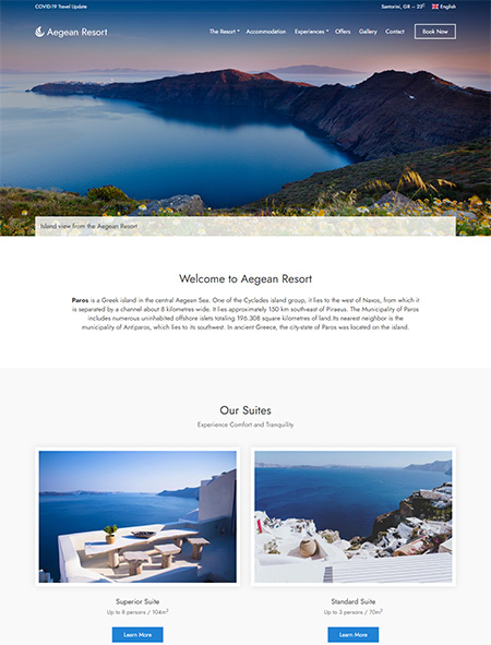 Aegean-Resort-WordPress-Theme