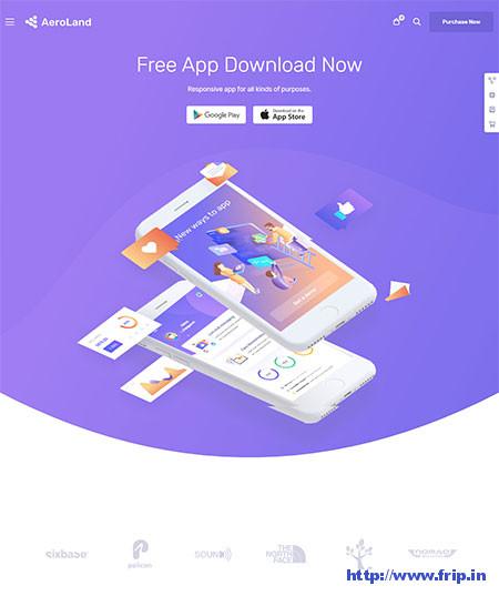 App Showcase WordPress Themes