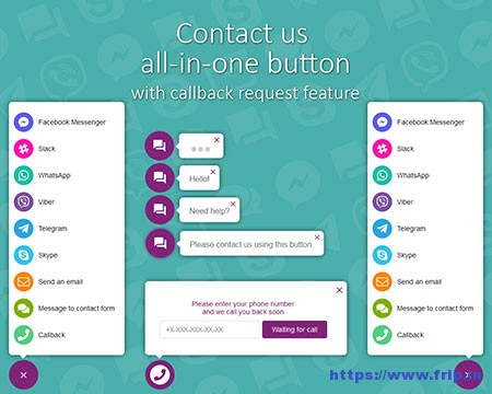 All-In-One-Support-Button-WordPress-Plugin