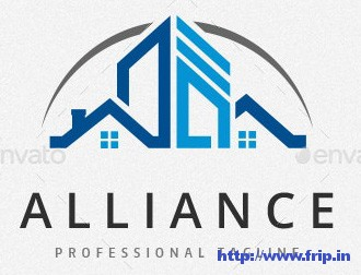 Alliance-Estate-Logo-Template