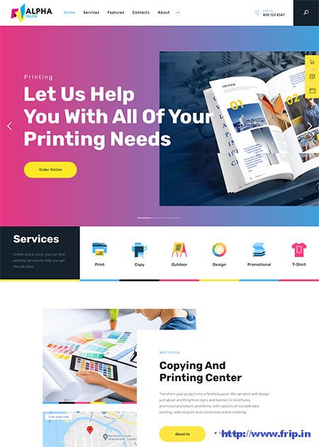 AlphaColor-Printing-Services-Theme