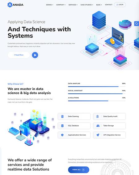 Anada-Data-Science-WordPress-Theme
