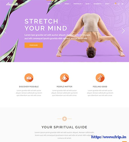 Anahata-Yoga-WordPress-Theme