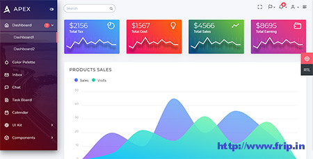 Apex-Bootstrap-Admin-Dashboard-Template