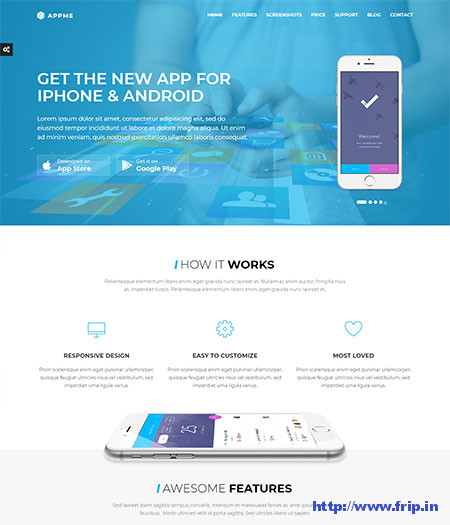 AppMe-App-Landing-Page-Theme