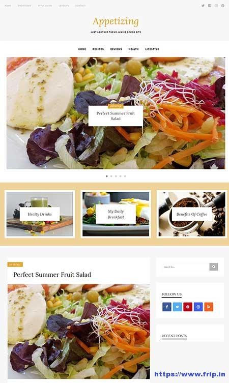 Appetizing-Lifestyle-WordPress-Theme