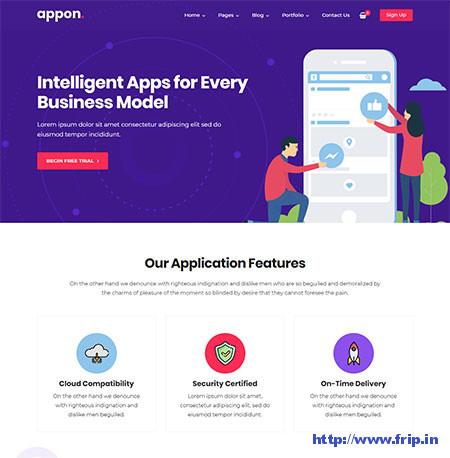 Appon-App-WordPress-Theme