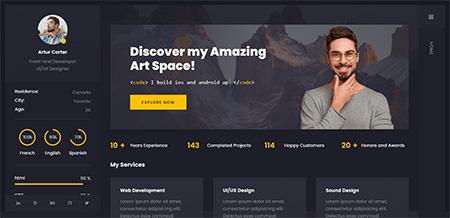 Arter-Resume-WordPress-Theme
