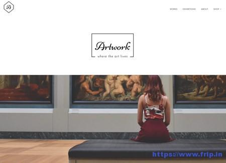 Artwork-WordPress-Theme