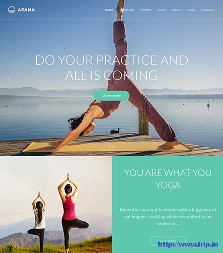 Asana-Yoga-WordPress-Theme