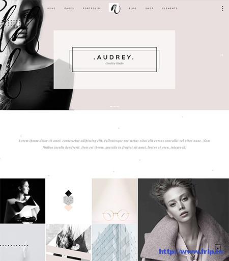 Audrey-Fashion-WordPress-Theme