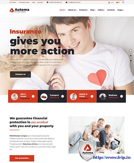 Autema-Insurance-Agency-WordPress-Theme