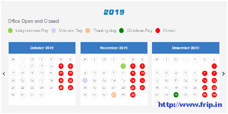 Availability-Calendar-Plugin