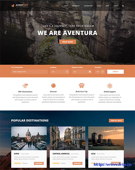 Aventura-Travel-&-Tour-Booking-Theme