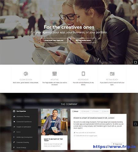 Avision-Multipurpose-HTML5-Template