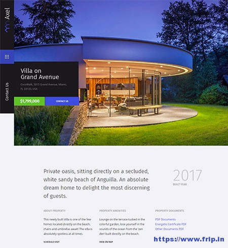 Axel-Single-Property-WordPress-Theme